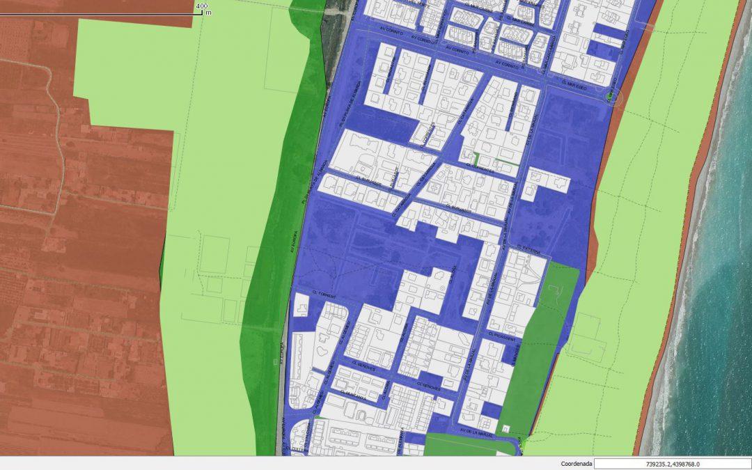 La transformación digital llega a la cartografía urbanística